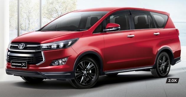 Toyota Innova 2.0X hiện là phiên bản cao cấp nhất trong dòng xe Innova.
