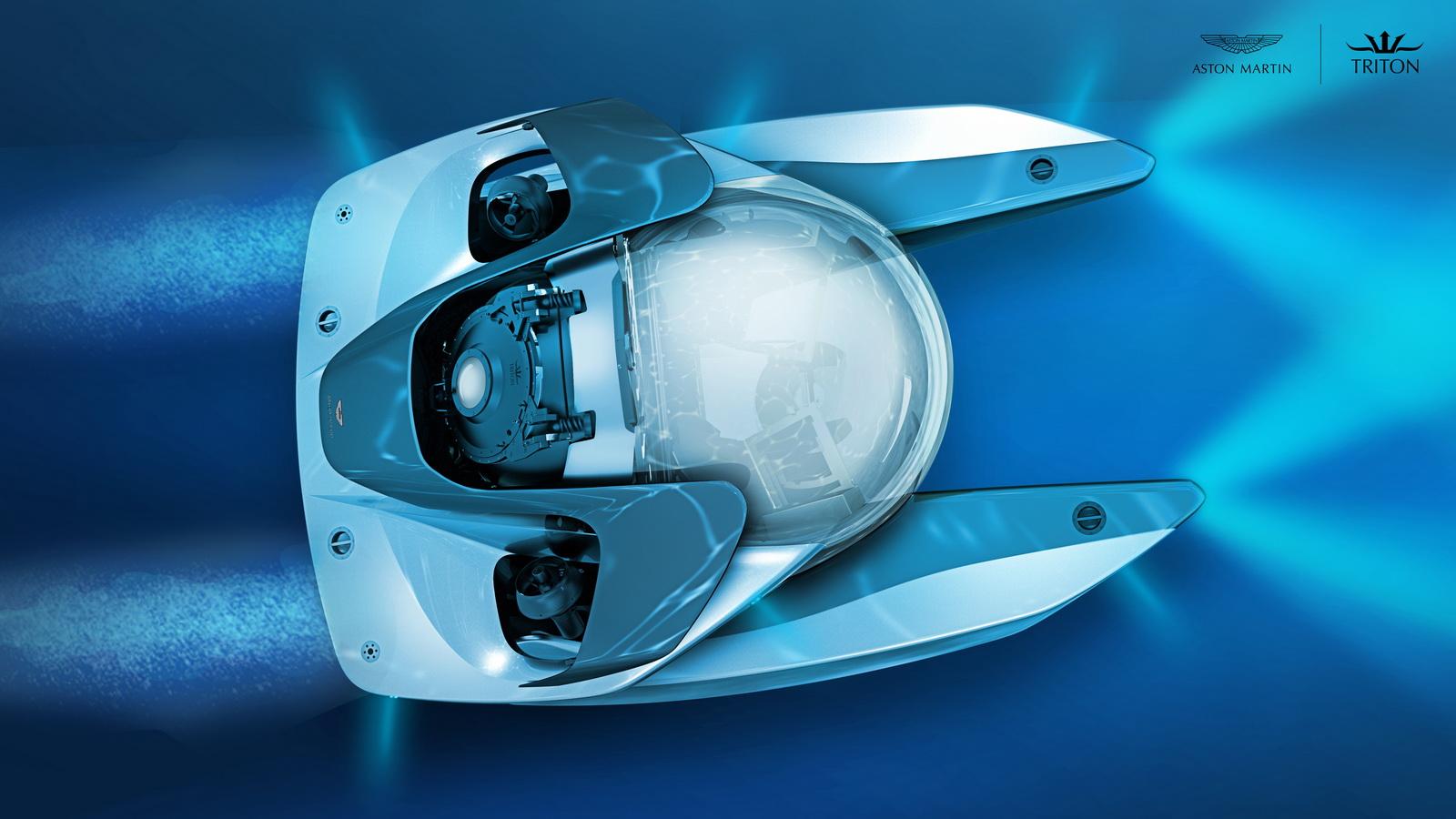 Tàu ngầm siêu sang của Aston Martin.