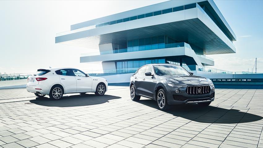 SUV Levante mẫu xe bán chạy nhất của gia đình Maserati tại Việt Nam