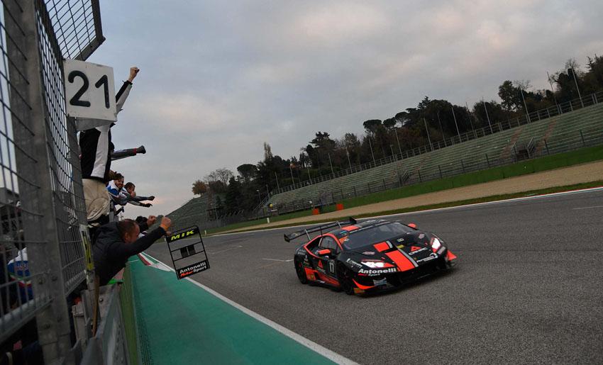 Nhà vô địch Lamborghini Super Trofeo đăng quang tại Imola