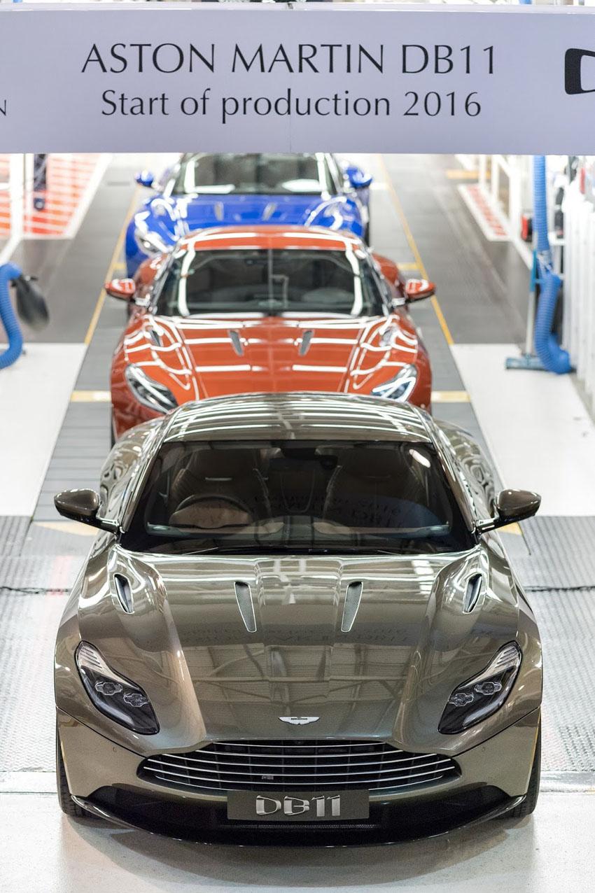 Aston Martin có nguy cơ phải ngừng sản xuất tại Anh