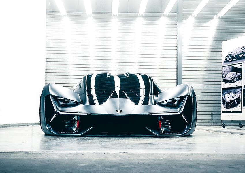 Mẫu xe concept Terzo Millennio của Lamborghini chính thức lộ diện