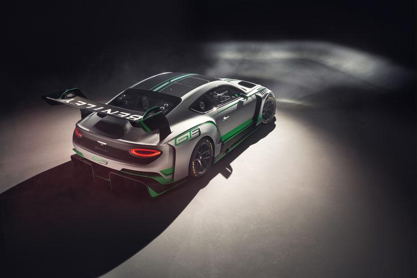 Xe đua Bentley Continental GT3 hoàn toàn mới