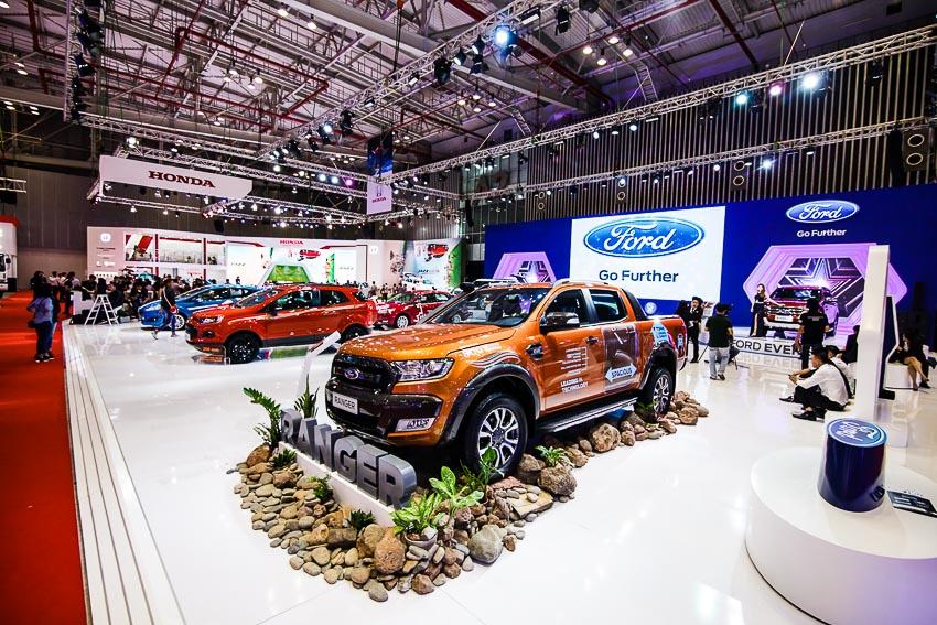 Doanh số của Ford Việt Nam vẫn tăng trong tháng 10