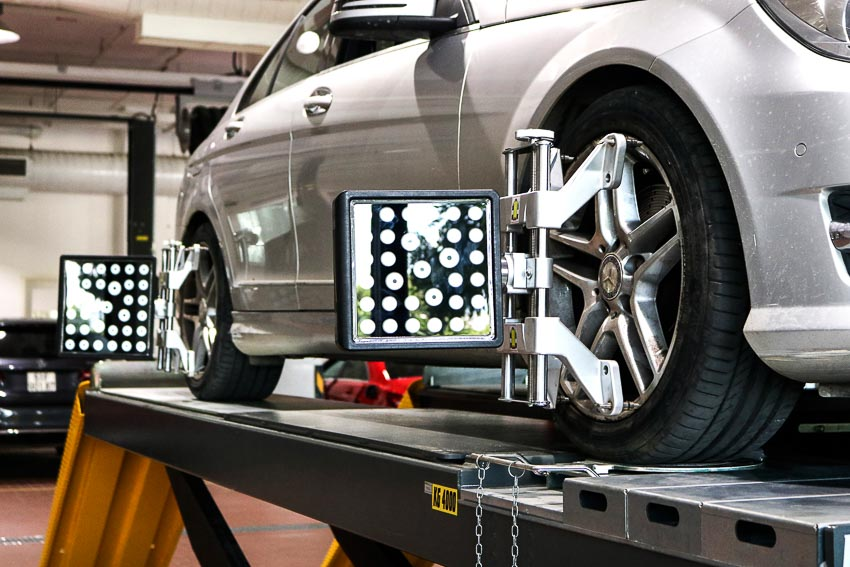 Vietnam Star Automobile ra mắt dịch vụ sửa chữa xe Mercedes-Benz