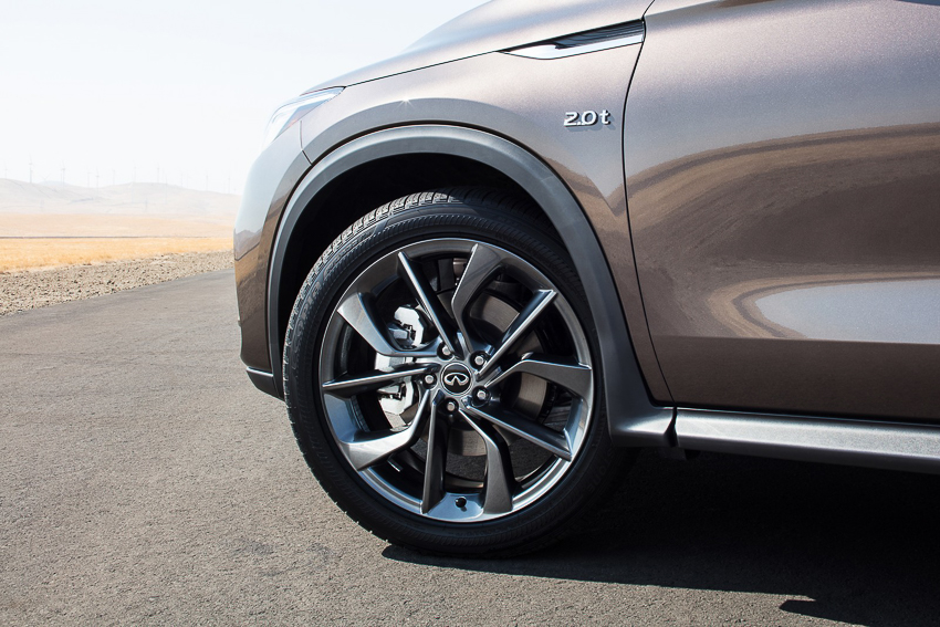 The all-new QX50