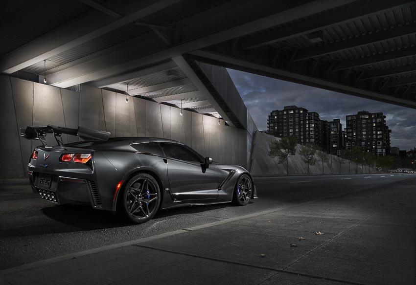 Cận cảnh chiếc Chevrolet Corvette ZR1 2019 mạnh nhất lịch sử