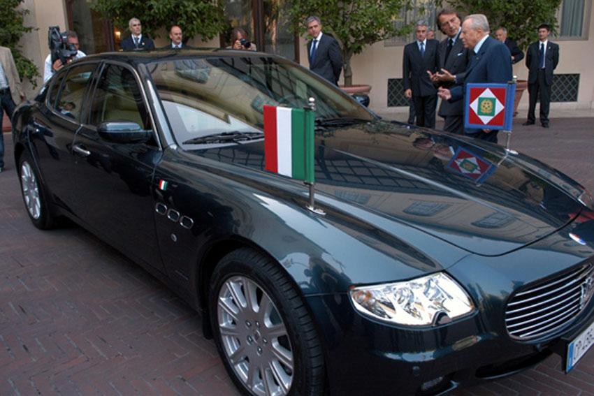 Maserati Quattroporte dòng xe được các chính khách nước Ý yêu thích