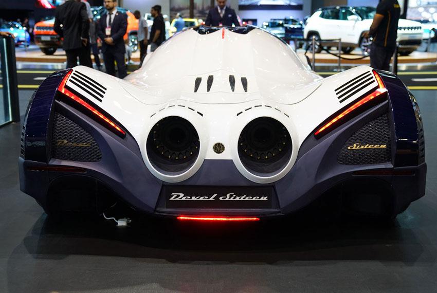 """Devel Sixteen """"Con quỷ tốc độ"""" đến từ hãng siêu xe Devel Motors"""
