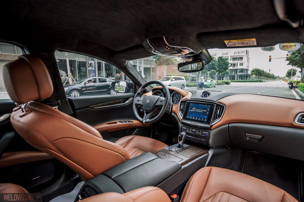 Maserati Ghibli – Xe thể thao hạng sang uy lực mà vẫn thời trang, lịch lãm