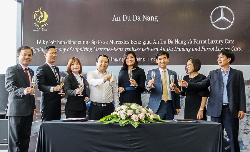 Mercedes-Benz Việt Nam bàn giao lô xe cho Parrot Luxury Cars
