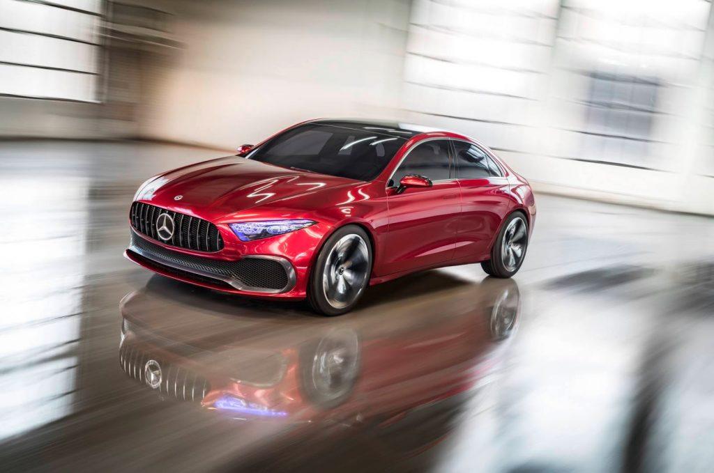 Mercedes xác nhận A-Class sedan sẽ bán tại Hoa Kỳ