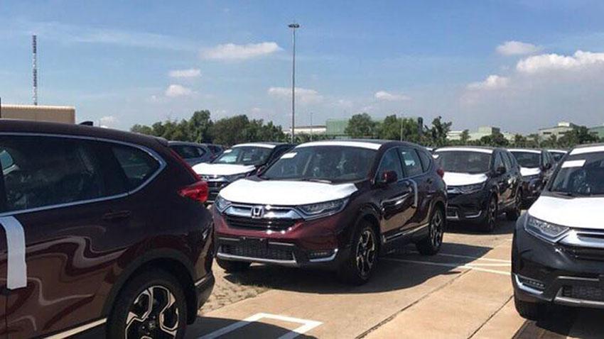 Honda CR-V 7 chỗ đã cập cảng, sẽ đến tay khách hàng trước Tết