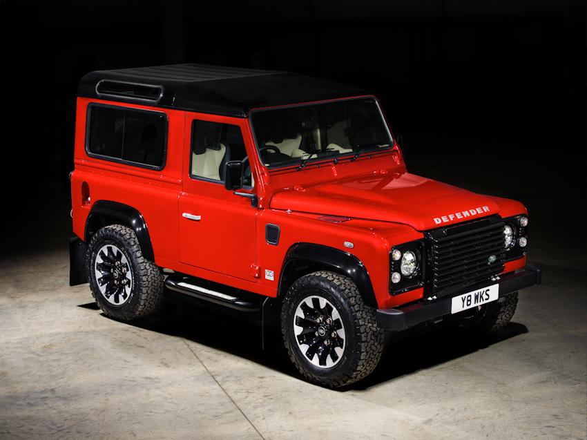 Kỷ niệm 70 năm, Land Rover trình làng phiên bản đặc biệt Defender Works V8