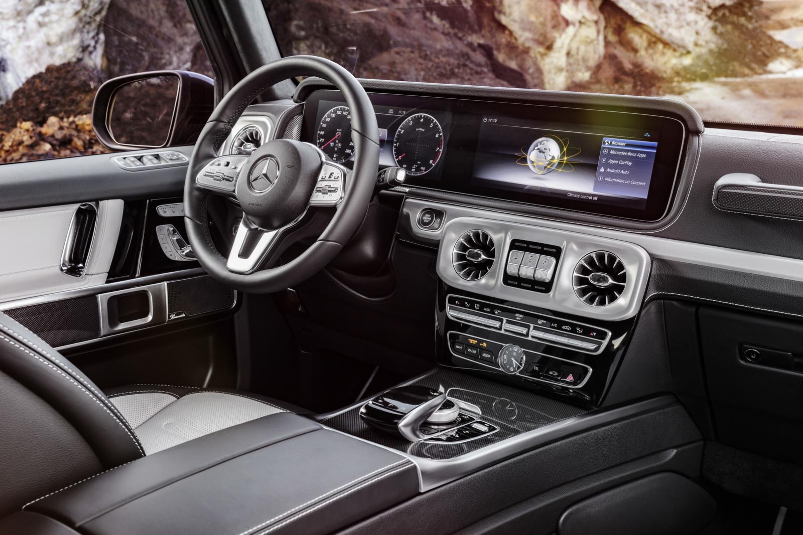 Mercedes G-Class hoàn toàn mới lộ diện trước ngày ra mắt tại triển lãm Detroit 2018