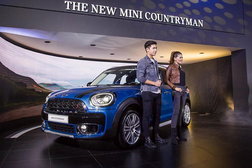 Thaco trình làng mẫu xe MINI Countryman phiên bản mới tại Việt Nam