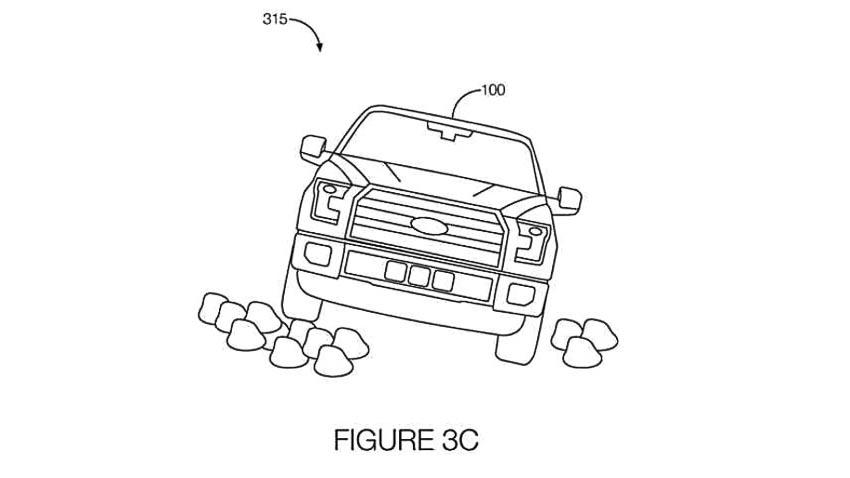 Ford được cấp bằng sáng chế công nghệ tự hành offroad