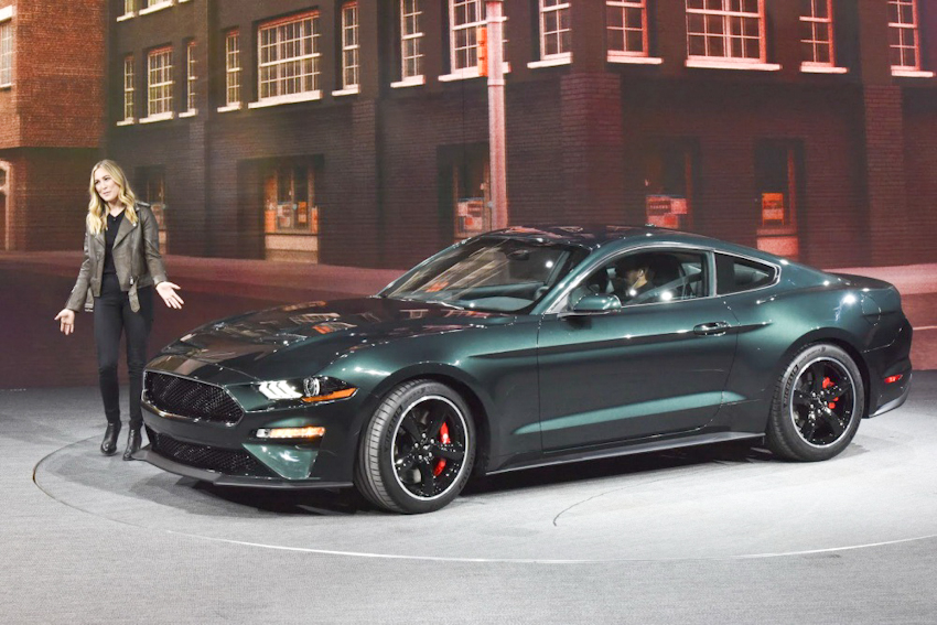 Ford trình làng chiến mã Mustang Bullitt 2019 mạnh mẽ với 475 mã lực