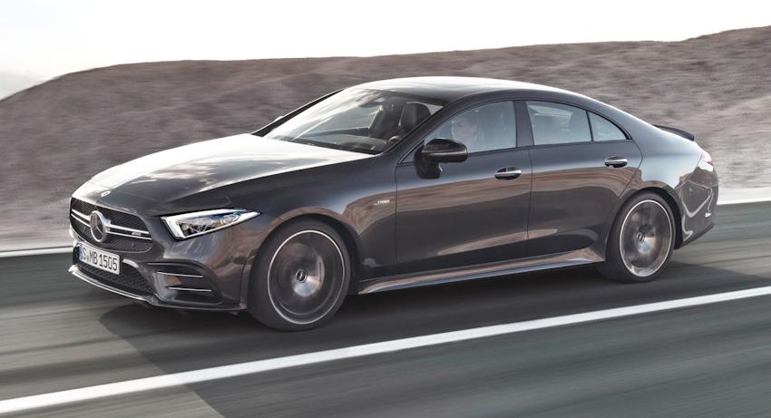 Mercedes giới thiệu CLS 53 AMG hiệu suất cao, hoàn toàn mới