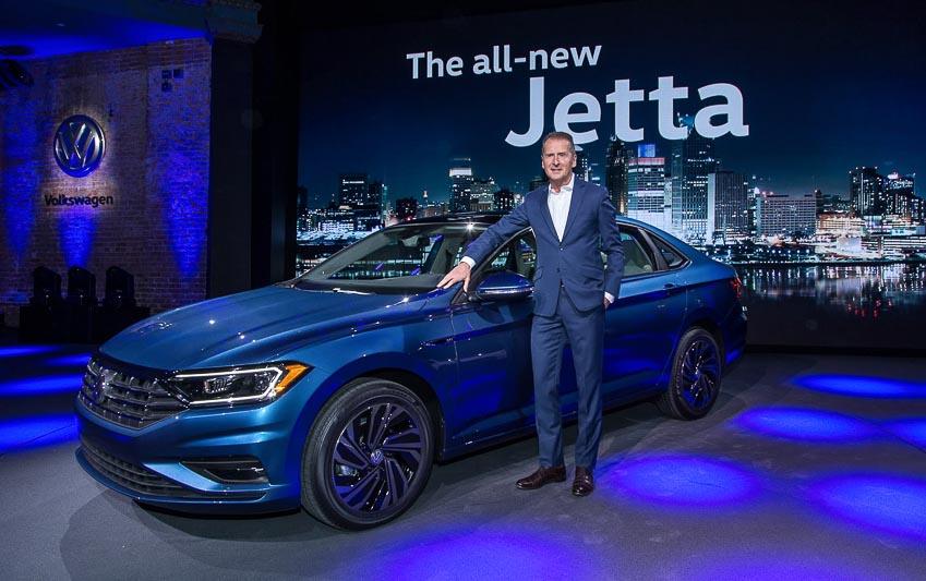 Volkswagen Jetta 2019 chính thức lộ diện, nâng cấp toàn diện