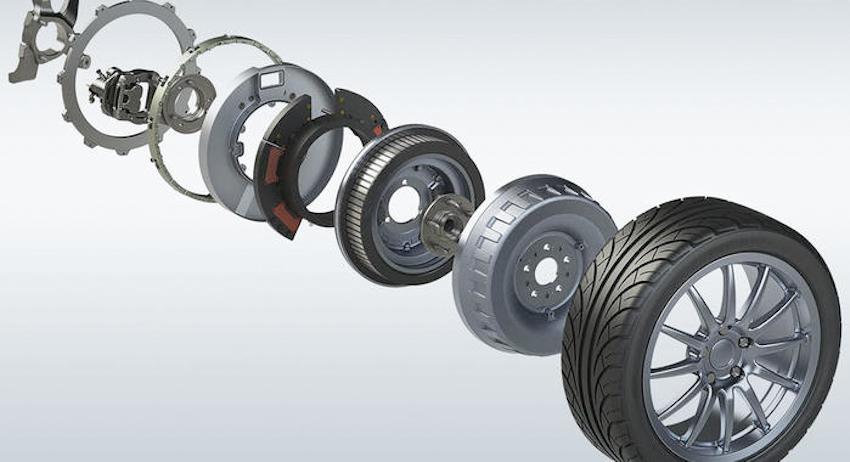 Đột phá với công nghệ mô-tơ trong bánh xe trong sản xuất xe điện tương lai