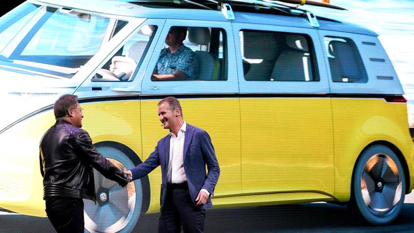 Volkswagen chính thức bắt tay với NVIDIA mang công nghệ AI lên xe hơi