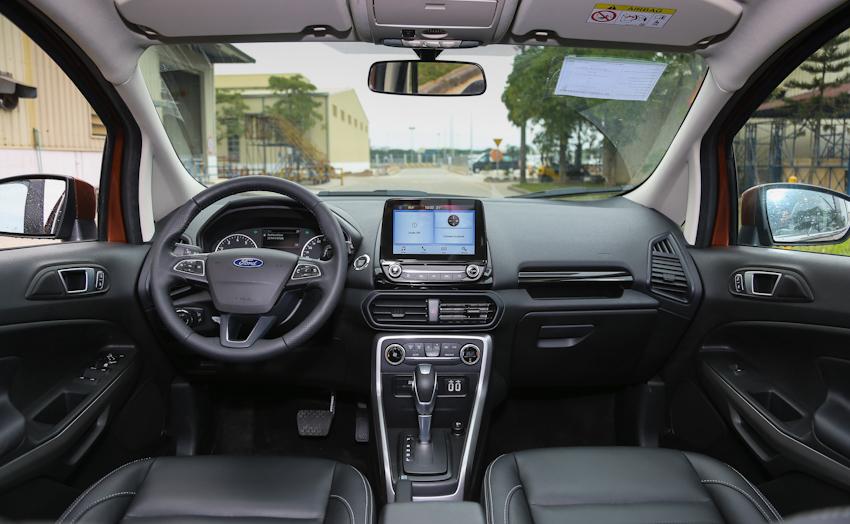 Mẫu xe Ford EcoSport mới 2018 chính thức trình làng ra mắt tại Việt Nam