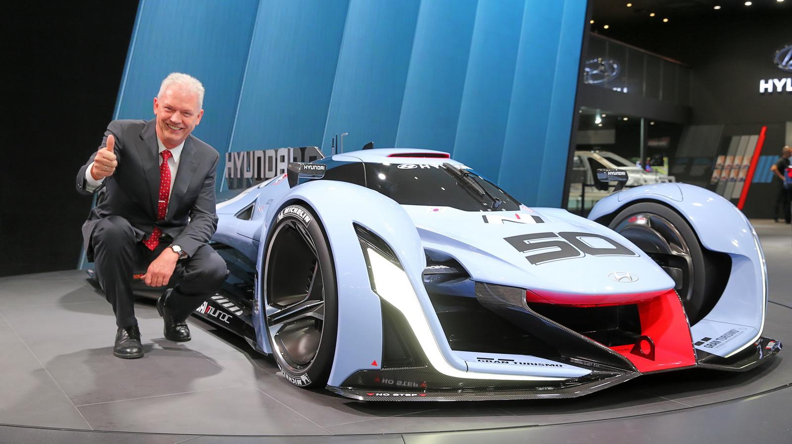 Sep Hyundai N: 'Chung toi khong sao chep Mercedes, BMW hay Porsche'