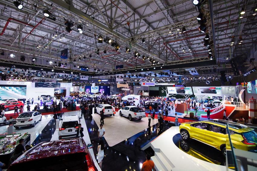 18 thương hiệu ô tô sẽ tham gia triển lãm Vietnam Motor Show 2018 vào tháng 10