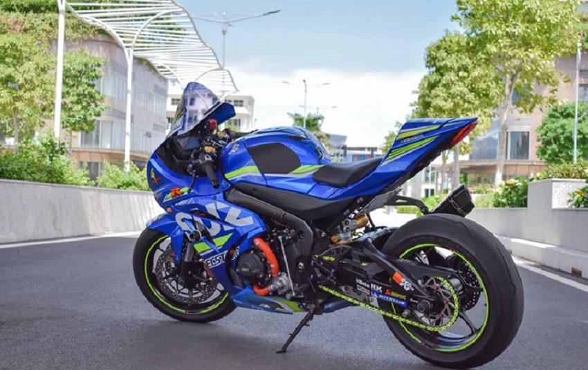 """Ngắm """"Phượng Hoàng"""" Suzuki GSX-R1000 độ đồ chơi hơn 100 triệu đồng"""