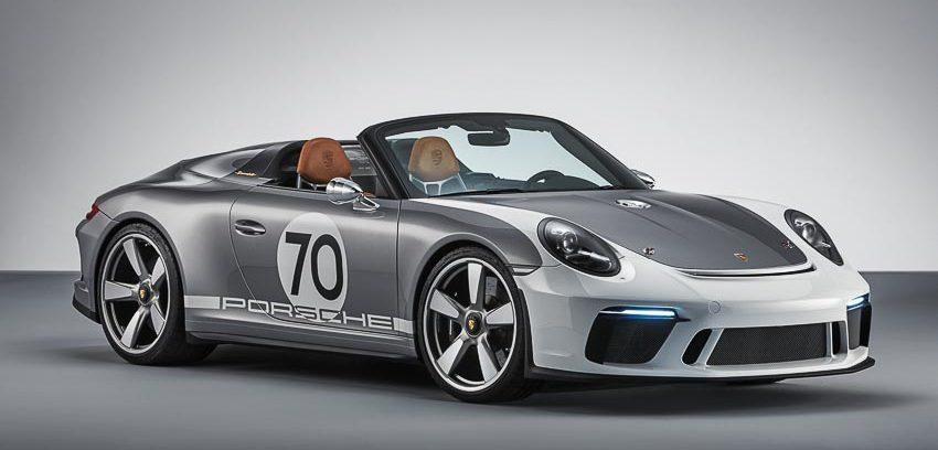 Porsche trình làng mẫu xe concept 911 Speedster mui trần, sức mạnh 500 mã lực
