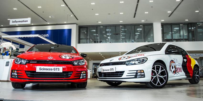 Volkswagen Scirocco tặng quà 40 triệu đồng nhân dịp World Cup 2018