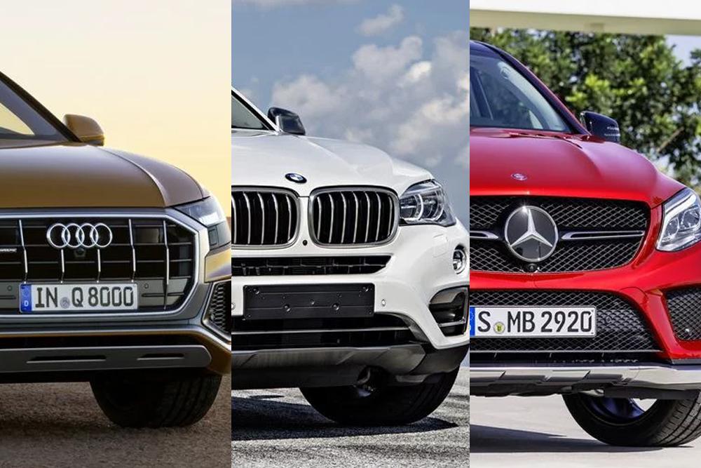 Audi Q8 - BMW X6 - Mercedes-Benz GLE Coupe: Lựa chọn của bạn là gì?
