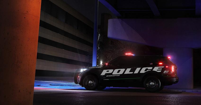 Ford Explorer hybrid 2020 hé lộ phiên bản xe tuần tra