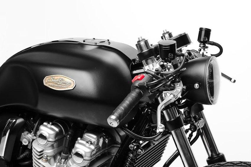 Honda CB1100 lột xác với bản độ cafe racer Ý