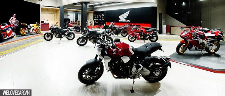 Bảng giá xe máy, mô tô Honda tháng 6/2018