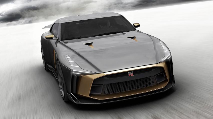 Siêu xe Nissan GT-R50 by Italdesign cực giới hạn, mừng sinh nhật 50 năm GT-R và Italdesign