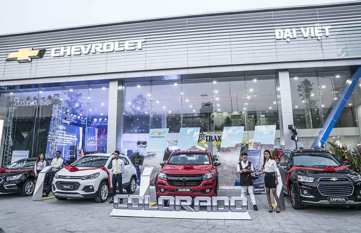 Hiện Chevrolet có 22 đại lý trên toàn quốc