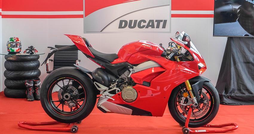 Ducati ra mắt mẫu xe Panigale V4 tại Việt Nam