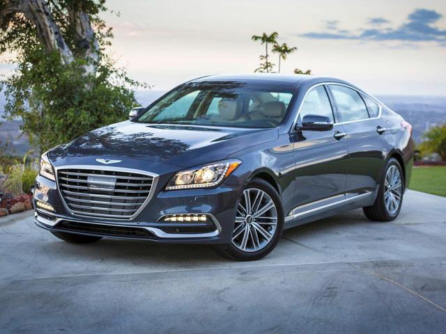 Genesis chỉ có đúng 2 mẫu xe trên thị trường bây giờ là G80 và G90.