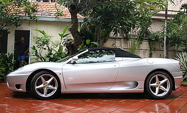 """Hàng hiếm Ferrari F360 Spider """"hồi sinh"""" dưới bàn tay dân chơi siêu xe Sài Gòn."""