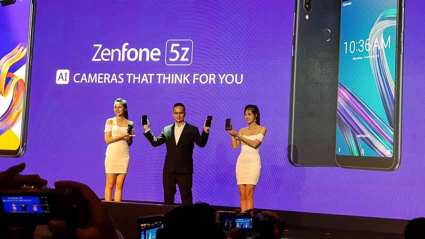 Asus trình làng ZenFone 5Z với chip xử lý Snapdragon 845 tại Việt Nam