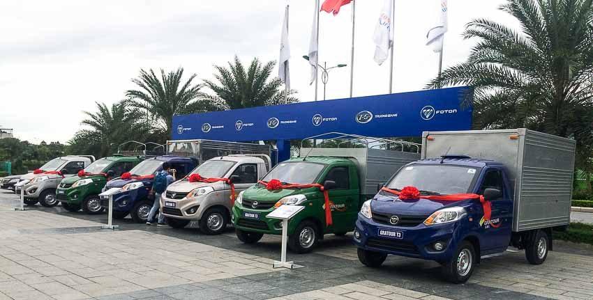 Ra mắt mẫu xe tải Gratour T3 tại thị trường Việt Nam