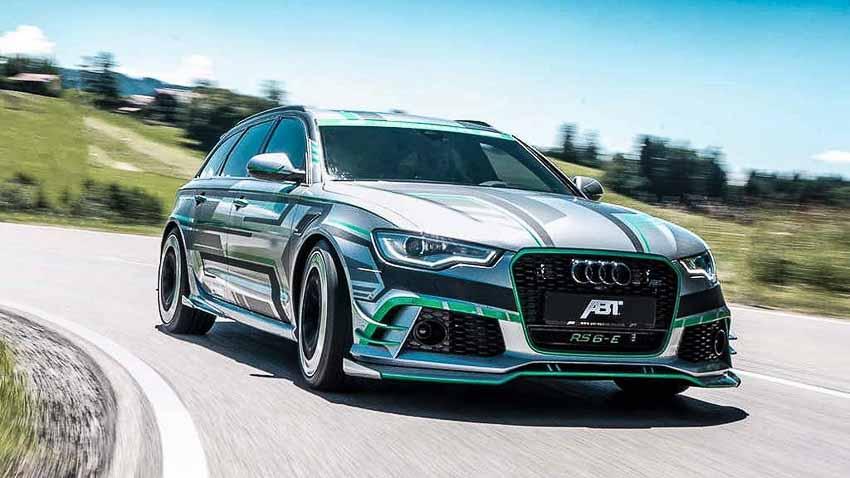 Audi RS6 độ sức mạnh lên 1.018 mã lực với hệ thống hybrid