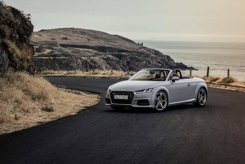Kỉ niệm 20 năm, Audi TT 2019 thêm tùy chọn động cơ tăng áp 2.0L mạnh mẽ hơn