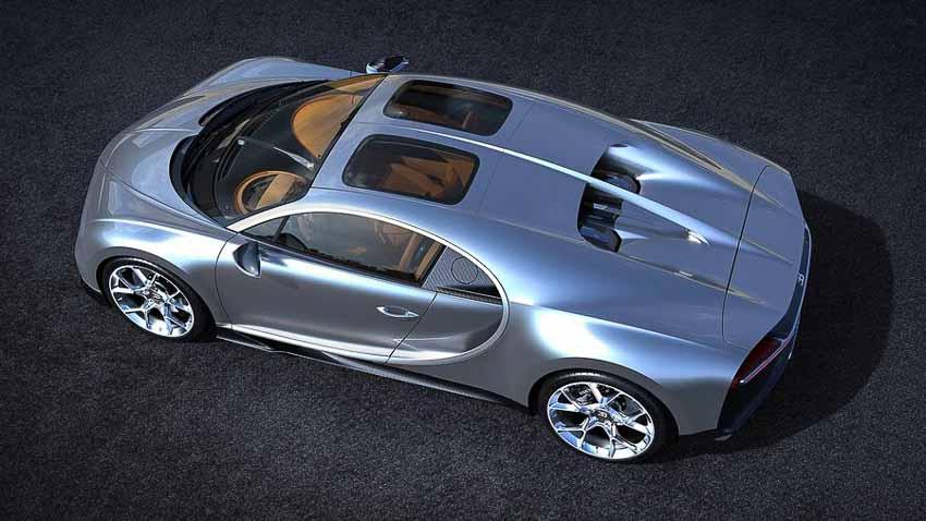 """Bugatti Chiron """"Sky View"""" cực sang với cửa sổ trời kính trong suốt"""