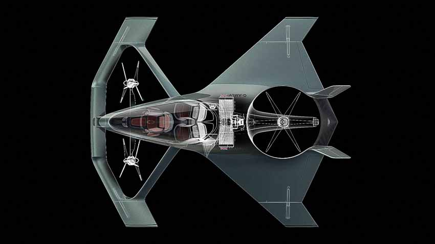 Concept Aston Martin Volante Vision - phương tiện bay siêu sang