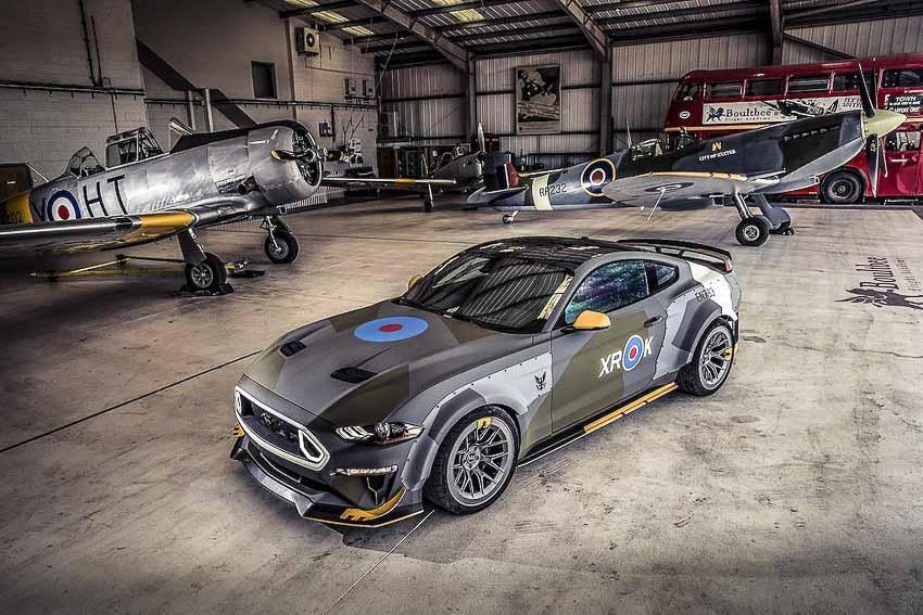 """""""Độc bản"""" Ford Mustang GT Eagle Squadron phong cách không quân hoàng gia"""