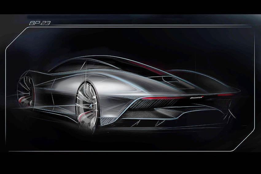 Công bố tên siêu phẩm McLaren Speedtail - siêu xe Speedtail BP23 giá 49 tỉ đồng