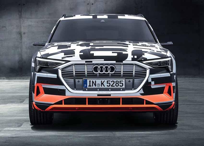 SUV điện Audi e-tron chốt ngày ra mắt vào tháng 9